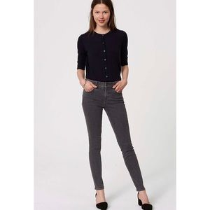 LOFT Modern Skinny Jeans in Vintage Gray Wash
